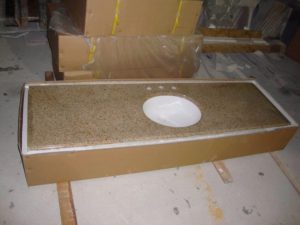 Gunstige Anpassen Poliert Fertig Granit Kuchenarbeitsplatte Fur