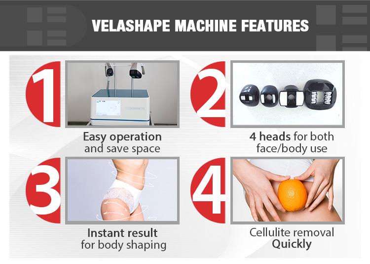 Портативный OEM дизайн 3 в 1 velashape