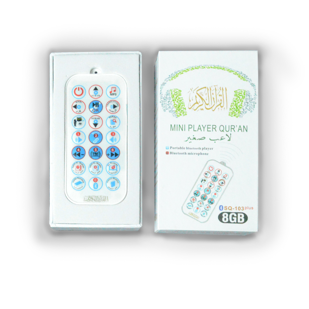 Mini al quran mp3 player with urdu translation,digital quran speaker with bluetooth microphone