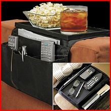 New Arm Rest Organiser With 6 Pocket- Table Top Perfect Armchair Companion