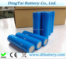 lifepo4 rechargeable battery 18650 3.2v 1500mah lifepo4 cylindrical for 36V 15ah 18ah 21ah 24ah 27ah 30ah lifepo4 battery pack
