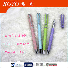 2016 Vivid color Metal fountain pen gift pen for students writing pen