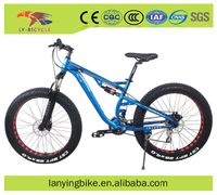 26 inch 4.0 fat tire bike big tyre bicycle snow bike sand bicycle alloy frame mountain bike style fat tire bicycle