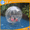 Funny inflatable floating water ball, PVC and TPU good water roller ball price