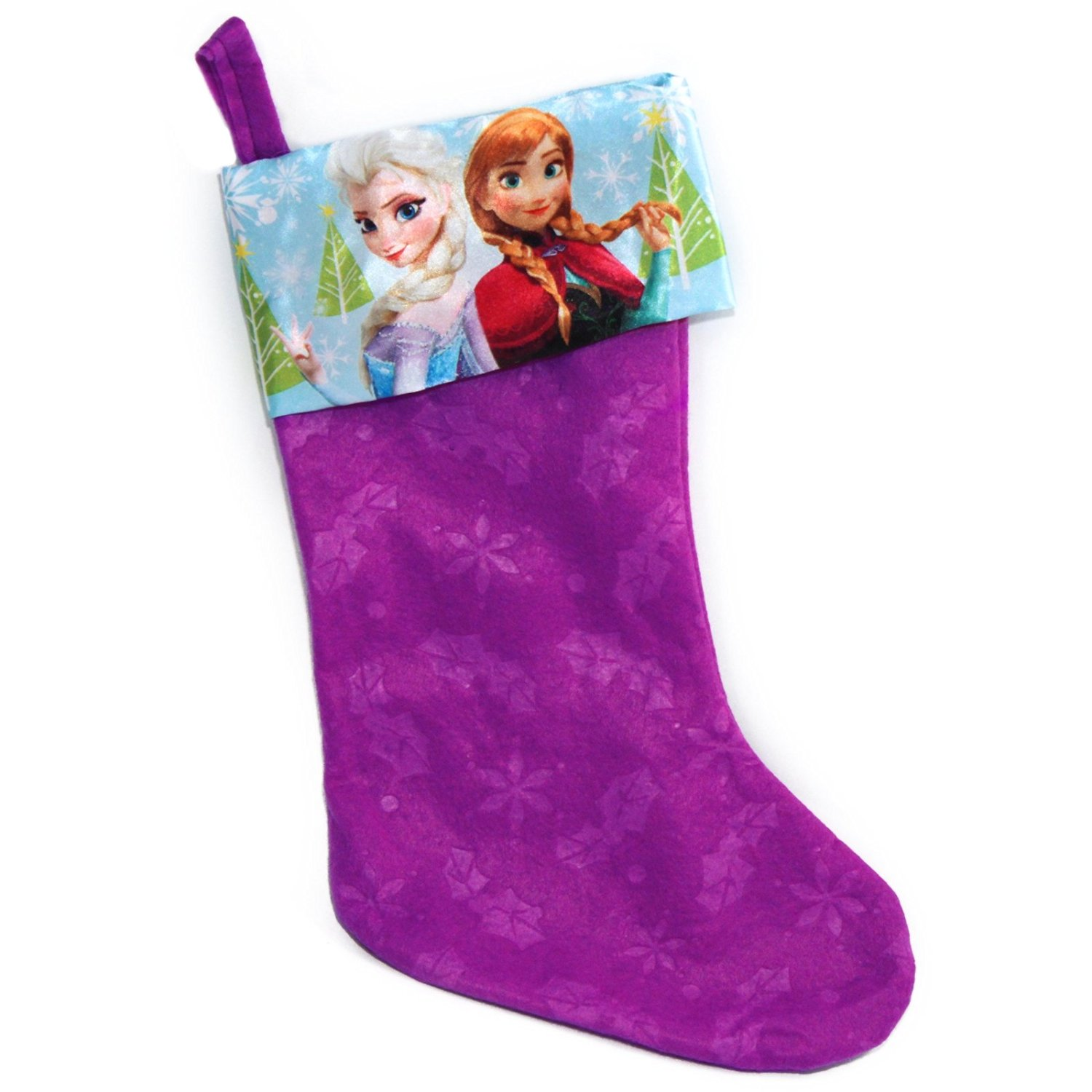 get quotations disney frozen anna and elsa 18 inch childrens christmas stocking - Elsa Christmas Decoration