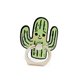 Cactus Cartoon Plastic The Custom Logo Magnetic Cell Ring Holder For Mobile Phone