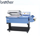Brother Packing FM5540 POF Film manual shrink wrapping machine 2 in1semi-automatic l bar sealer