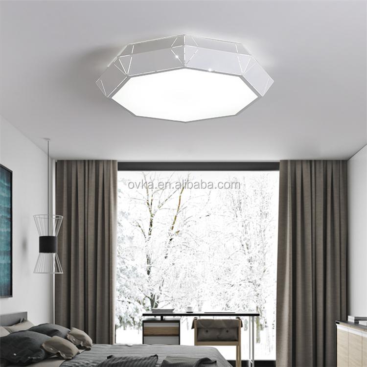 Creatieve Geometrie Persoonlijkheid Led Slaapkamer Plafondlamp ...