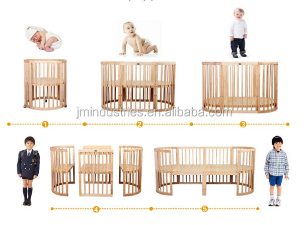 5 In 1 Baby Crib Baby Cot Baby Bed Set Buy Multifunction Baby