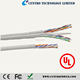 305M/Roll UTP Cable 4pr Indoor CAT5E Bulk Cable CMR Rated UL Approval Pull-Out Box Solid BC