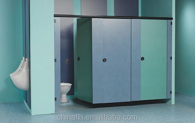 Super Hygienic Hpl Phenolic Core Laminate Wall Panels For Public - Public bathroom wall panels