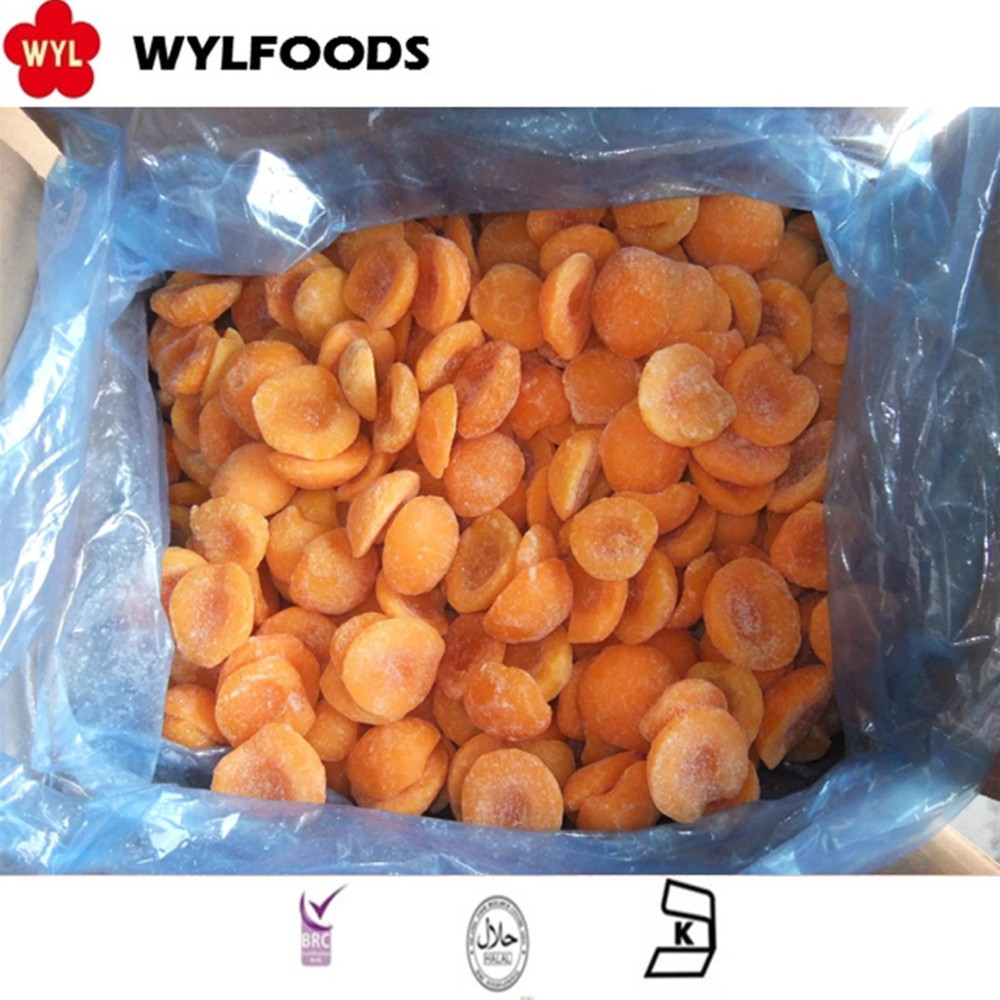 Chinese Peeled Hot Sale Iqf Frozen Apricot