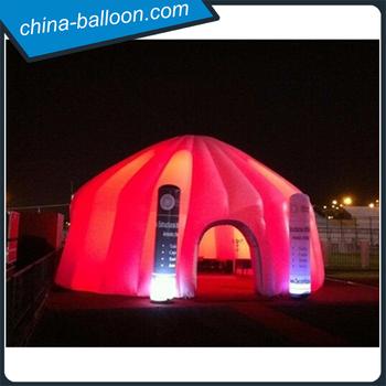 Riesen Billig Aufblasbare Led Beleuchtung Partyzelt, Außen Aufblasbare Led  Haus Für Veranstaltungen