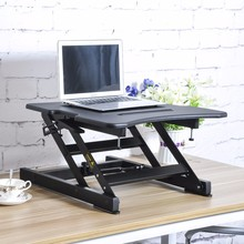 LD02C modern height adjustable laptop sit stand desk