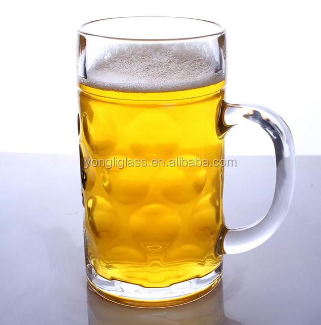 oem factory 1l beer mugs 35oz big beer glassbeer mugbeer cup for - Glass Beer Mugs