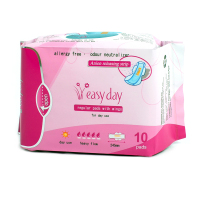 Soft Comfortable Anion girl breathable sanitary napkins sanitary pads wholesale