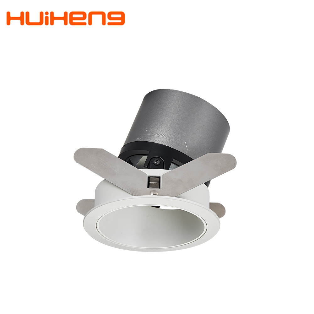 New Hotel Bedroom Adjustable 7w 8w 9W 12w Anti Glare Cob Led Surface Dimmable <strong>Spotlight</strong>,Recessed Wall Washer Spot Light Black