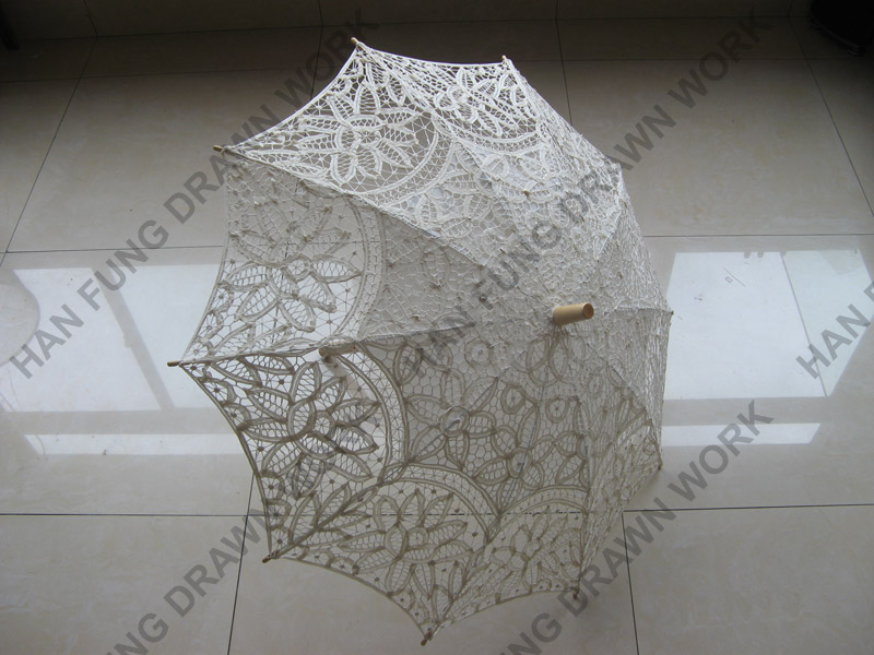 antique cutwork lace wedding parasol