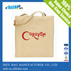 Recyclable customized canvas tote bag