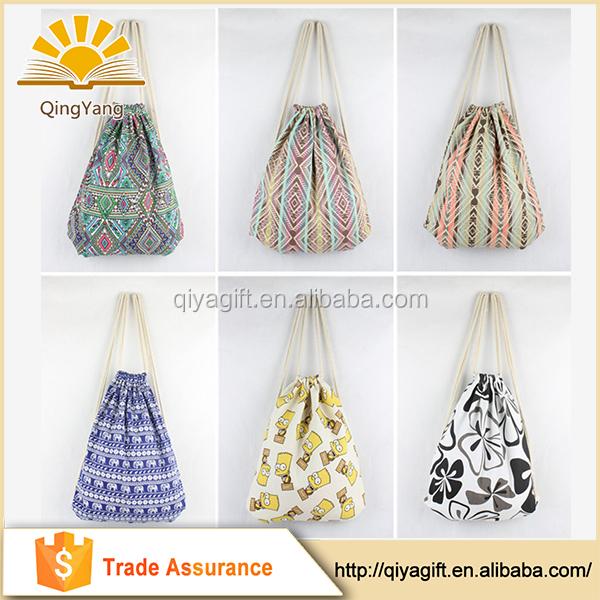 Jute / Cotton /canvas Drawstring Bag,Cute Jute Gift Bag,Jute Draw ...