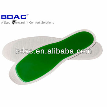 soft gel shoe pad as Inner sole for summer foot gel insole