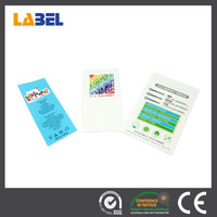 Custom garment label, cheap woven washing care label, printed care label