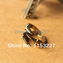 11 11 Shopping Festival Free shipping HOT SALE steampunk punk fashion gold bronze dragon eagle claw