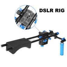 DSLR Rig Set Movie Kit Film Making System Shoulder Mount Support Follow Focus Matte Box for Digital SLR Camera Video Camcorder