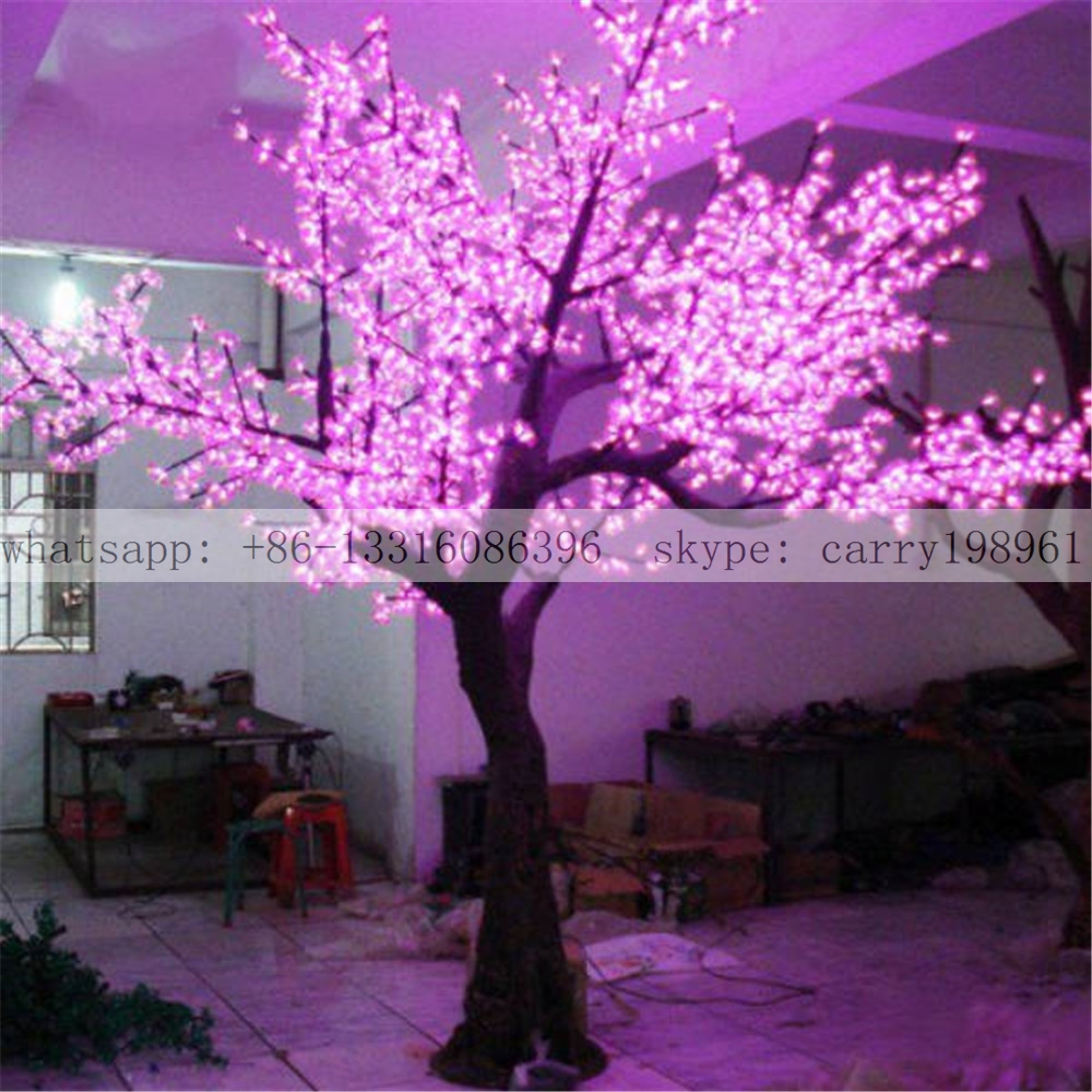 Artificial led decoration cherry tree on sale
