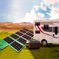folding solar panel 300w battery charger for caravan boat car electric bikes for camping tent