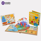 Hot Activity 3d Books for Children Printing Story Book for Kids Learning, children color picture story board books