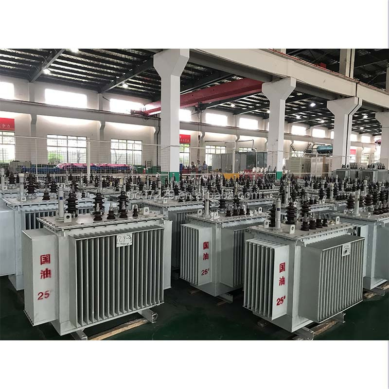 Best selling machiney Oil Type Test distribution oil immersed transformer made in china