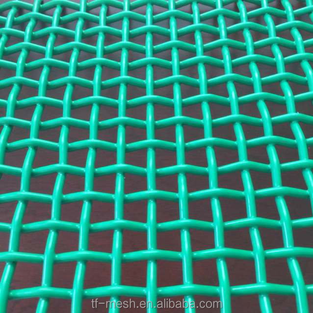 PVC Coated Crimped Woven Wire Mesh