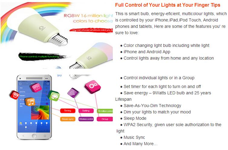 Tuya App Wifi Smart Lighting Bulbs Works With Alexa Google Home - Buy Wifi  Smart Lighting Bulbs,Tuya App Wifi Smart Lighting Bulbs,Wifi Smart Lighting