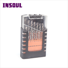 INSOUL China Manufacturer Direct Sale Long Length HSS Twist Drill Bits Set For Metal Stainless Steel