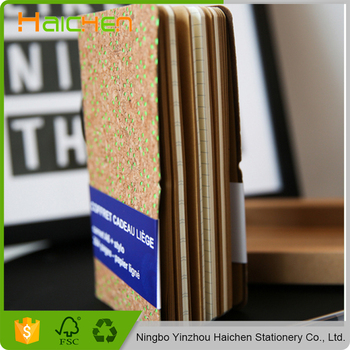 Trade Assurance In-Stock Items wooden notebook