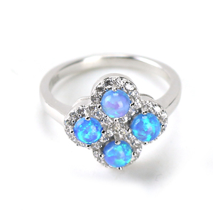 9d89f9ff4 Four Leaf Clover Rings, Four Leaf Clover Rings Suppliers and Manufacturers  at Alibaba.com