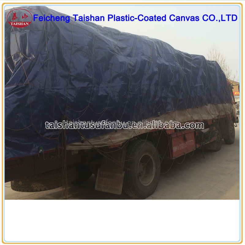 Full Trailer Type And Coustoms Size Pvc Tarpaulin Truck Cover ...
