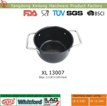 bbq grill topper bean pot with double handle