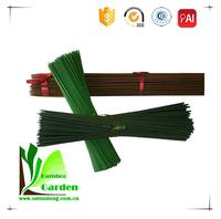 Fashion Eco-friendly Bamboo Natural Round Flower Stick