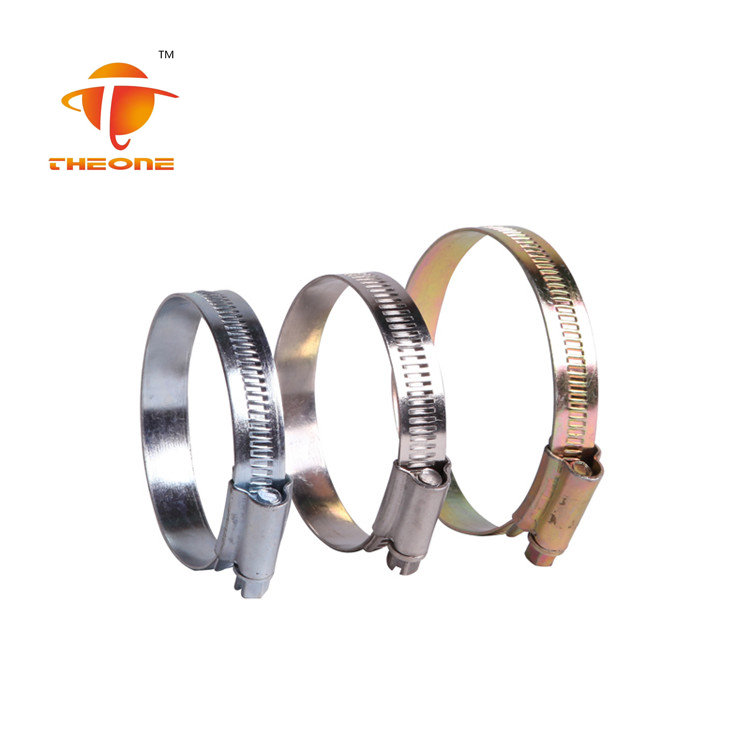 11.7mm Bandwidth British Hose Clamp For Fire Water Bag