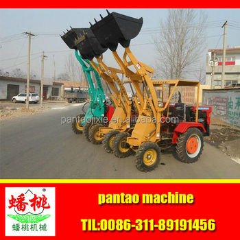 Small wheel loader small front end loaders for sale small garden tractor loader buy small for Small garden tractors with front end loaders