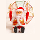 2017 New Arrival Christmas Decoration Electric Parachute Santa