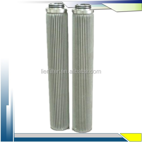 Stainless steel mesh pleated candle filter cartridge