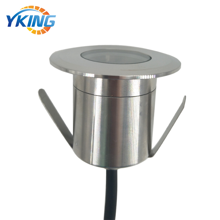 Cold White 304 Stainless steel 3W 12V IP67 outdoor underground led light recess