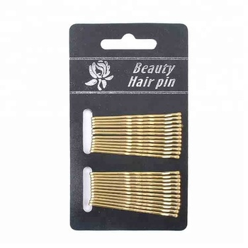 gold black simple hair pin hair styling tools for women