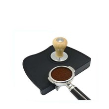 Amazon hot sell Food grade silicone coffee Corner Tamper Mat
