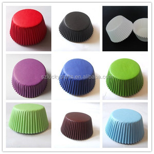 plain colors paper wholesale Cupcake Liner cake Cup muffin Wrappers Wraps Cases wedding Birthday