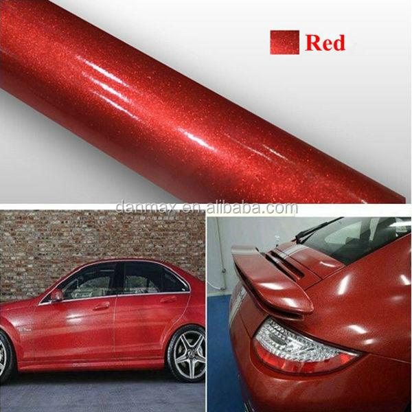 Metallic Red Car Paint
