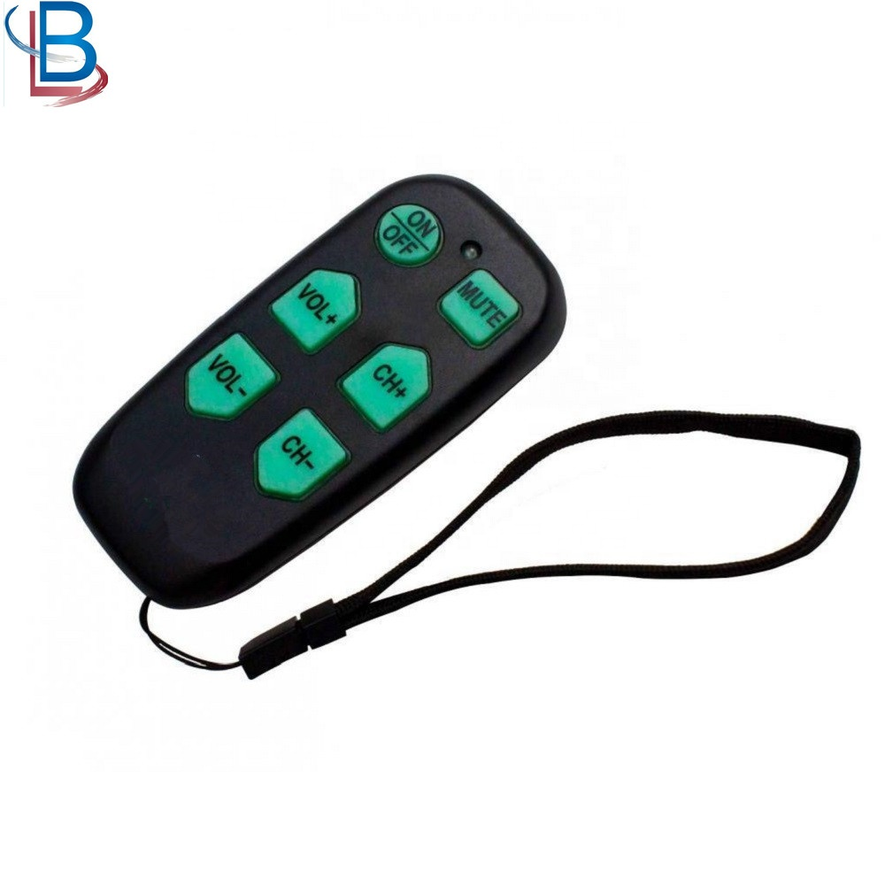 Universal DT-R08B Remote Control TV With Big Buttons